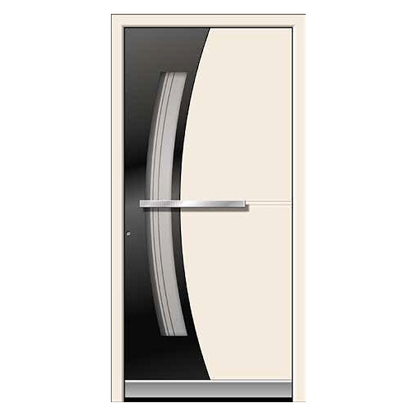 Aluminium Front Door in two Colours