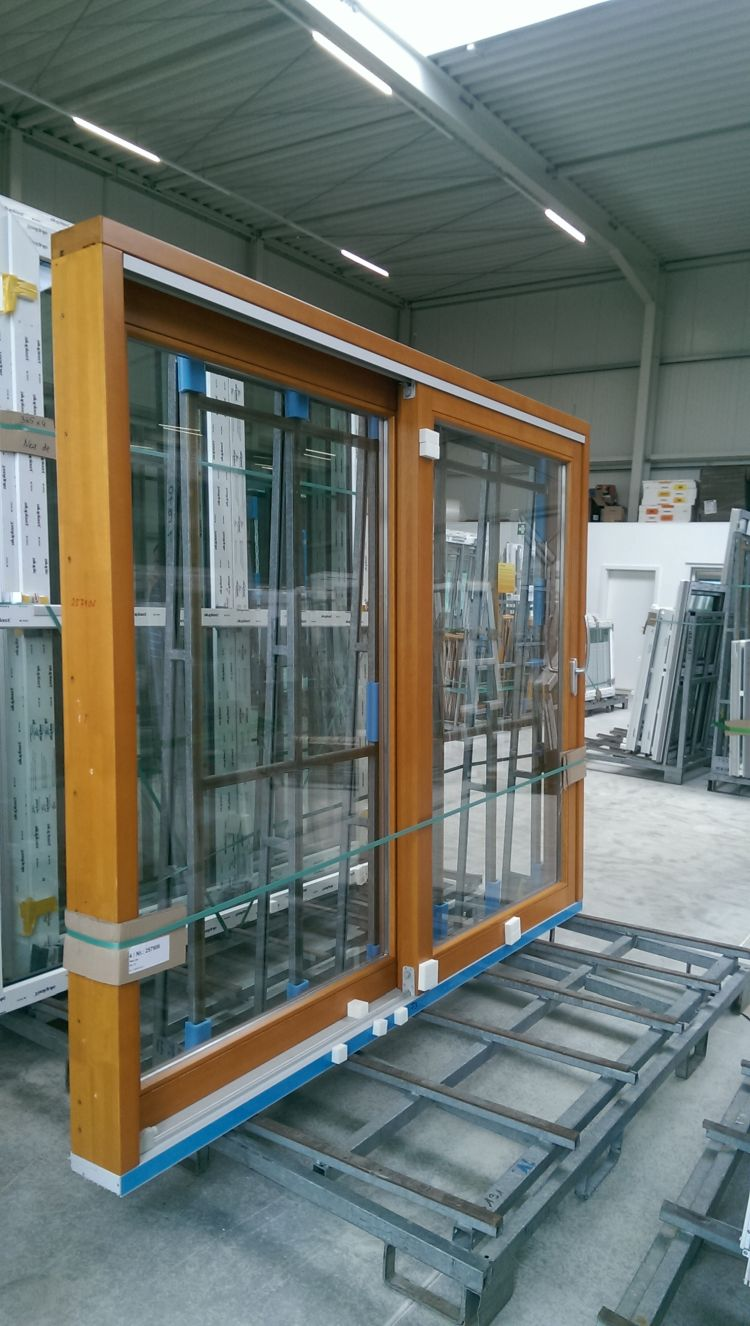 Timber lift and slide doors