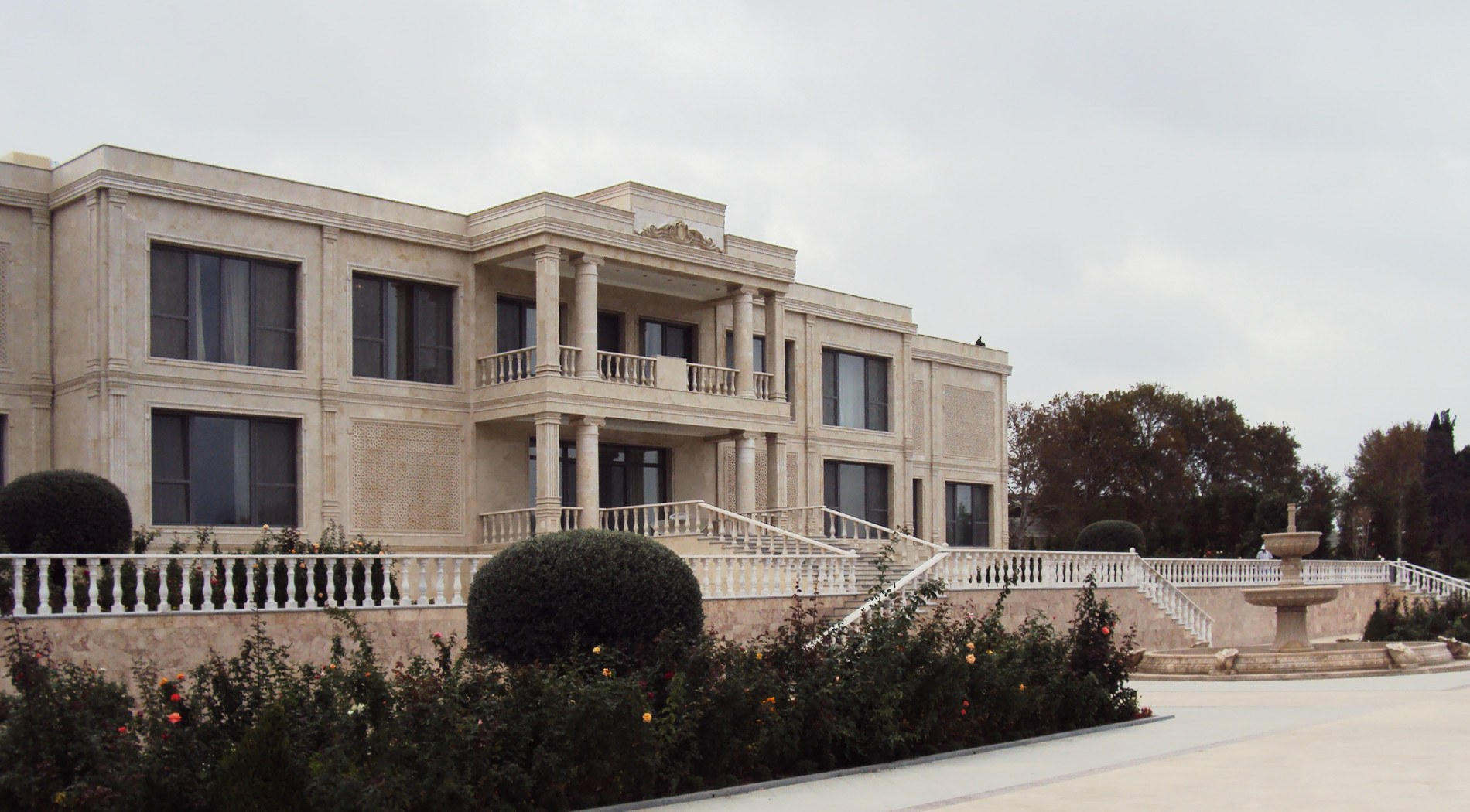 Project: Estate in Mingachevir, Azerbaijan