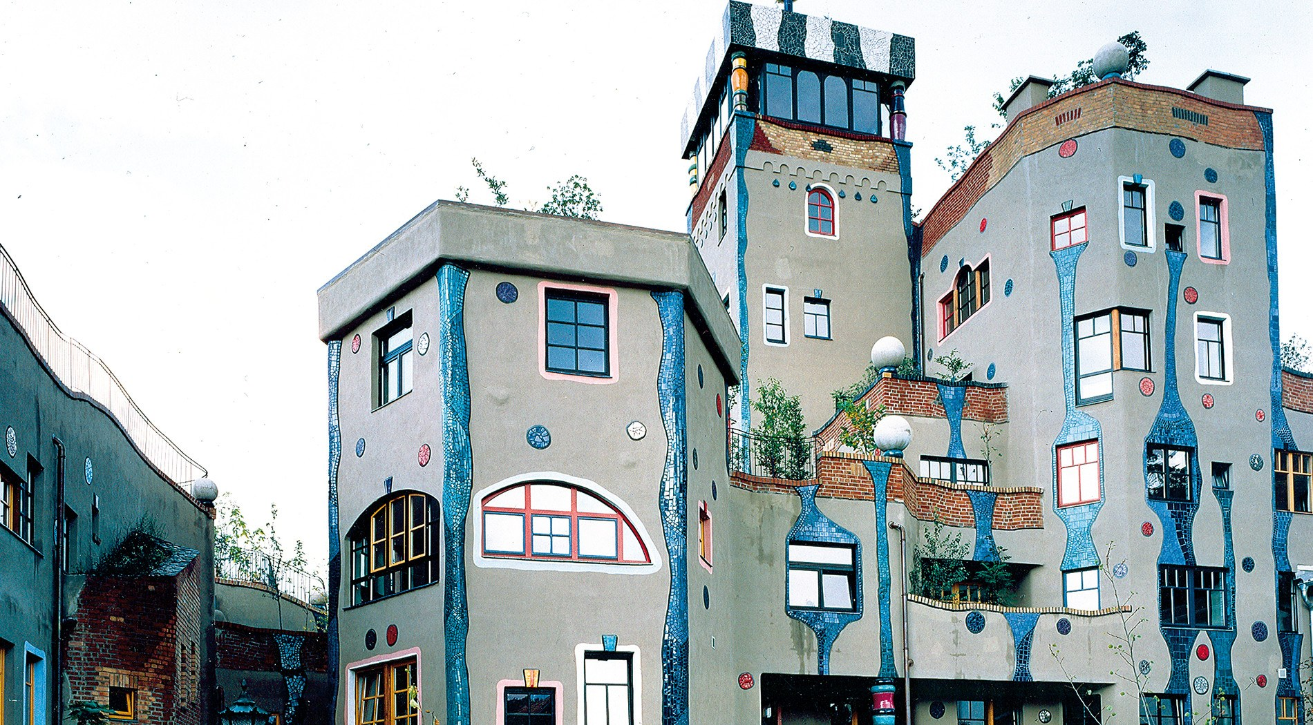 Project: Hundertwasser House in Bad-Soden / Germany