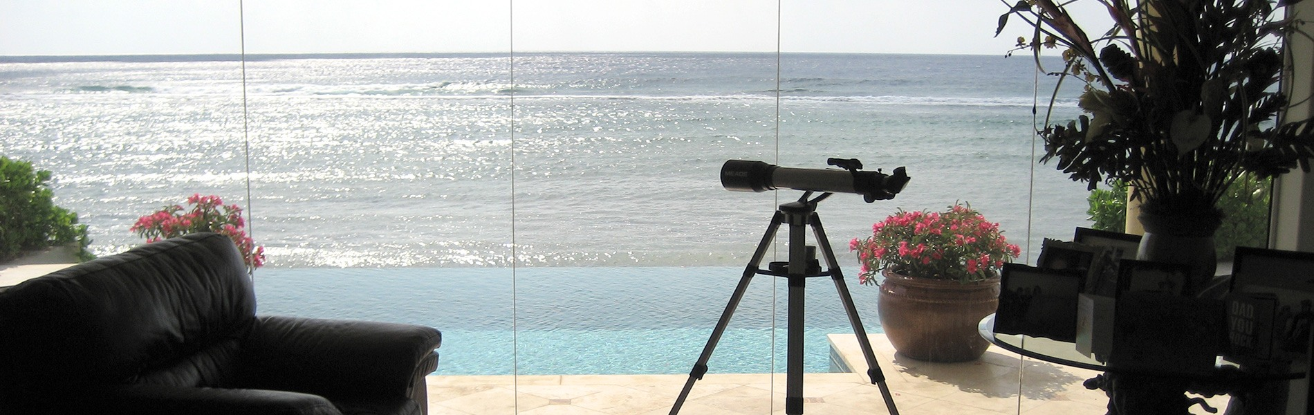 Private estate Cayman Islands - reference for window production in Germany