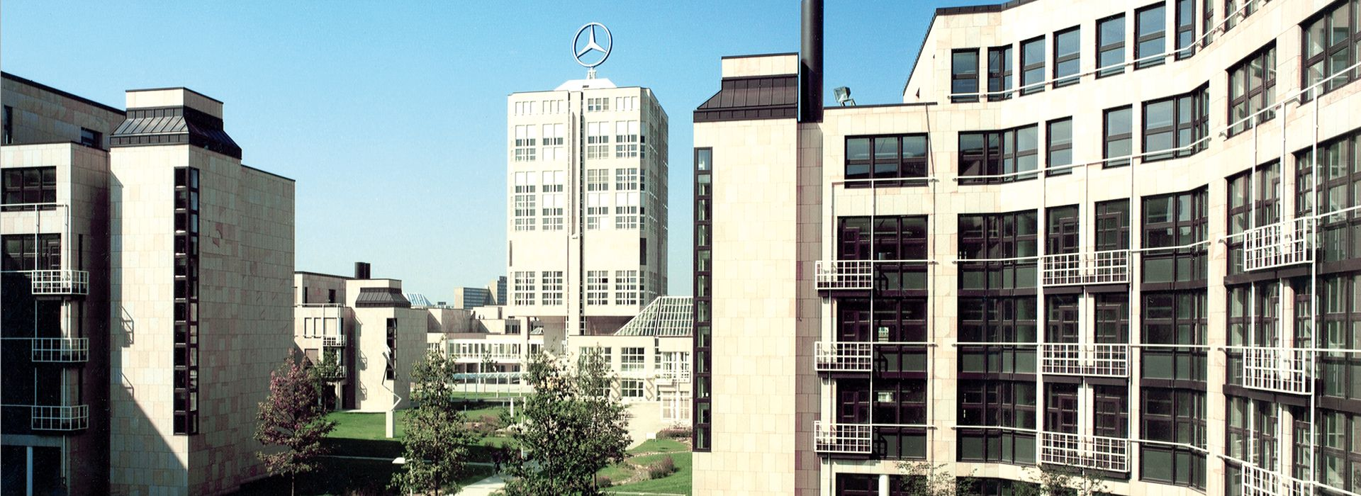 Project: Headquarters Daimler-Benz in Stuttgart - Möhringen, Germany