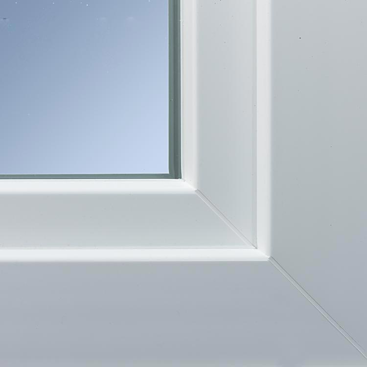 Ideal 4000 uPVC window profile details for warm climates