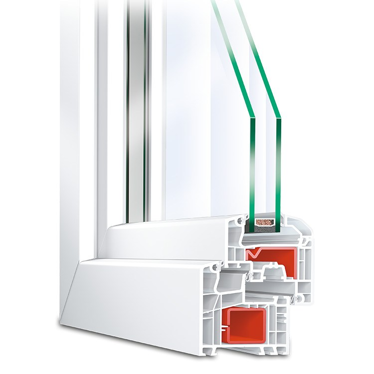 Ideal 5000 uPVC Window Profile
