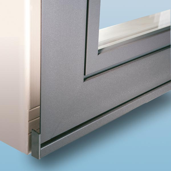 Window Profile for use with stone window sills