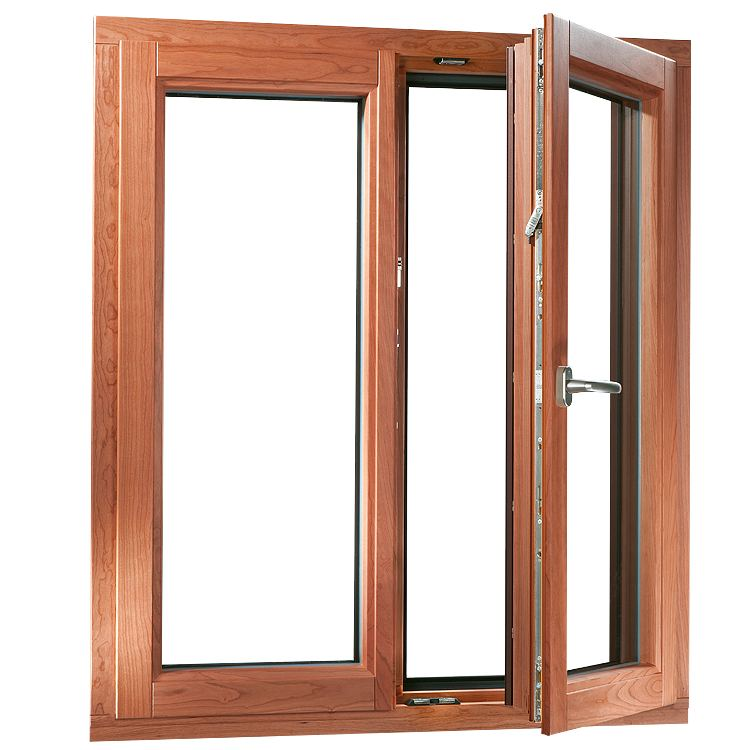 AluClad Timber Window Opened (inswing)